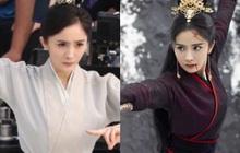 """Dương Mịch đi đường quyền siêu đỉnh ở hậu trường phim, netizen cà khịa: """"Xem mà tưởng Phù Dao năm nào cơ!"""""""