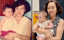 Em gái Trấn Thành khoe con gái 3 tháng tuổi siêu cấp đáng yêu, nhưng nhan sắc mẹ nam MC sau 27 năm mới đáng kinh ngạc