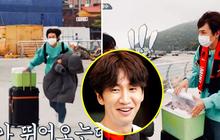 """Góc """"ăn chắc mặc bền"""": Ra đảo quay show, Lee Kwang Soo hớt hải mang theo 6kg thịt và 2 con gà, thế mới an tâm đi được!"""