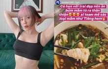"""Có một kiểu người như Tóc Tiên: hoàn cảnh nào cũng nghĩ ra… món để ăn cho hợp, luôn """"hết lòng hết dạ"""" với đồ ăn"""