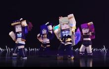 """Phát sốt với MV """"triệu view"""" POP/STARS bị """"Minecraft hóa"""", tưởng không hay mà hay không tưởng!"""