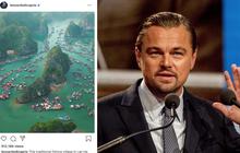 Leonardo DiCaprio chia sẻ hình ảnh vịnh Lan Hạ của Việt Nam trên Instagram, còn kêu gọi mọi người bảo vệ vẻ đẹp của nơi này