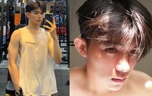 Nam sinh 2002 đẹp trai như tài tử Hong Kong, body săn chắc 6 múi