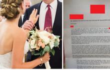"""Trót ăn """"trái cấm"""" thời trung học, 10 năm sau anh thanh niên nhận bức thư thịnh nộ từ bố bạn gái cũ với lời lẽ ai đọc cũng thấy hốt hoảng"""
