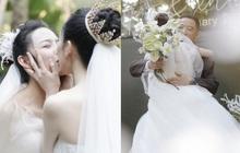 """Đám cưới hot nhất Cbiz: Học trò """"Mai Siêu Phong"""" kết hôn với bạn gái đồng tính, ảnh cuối khiến ai cũng xúc động nhoà lệ"""