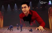 """Super Junior làm concert chất đến phát ngất: """"Hóa phép"""" Siwon to bằng tòa nhà 2 tầng ngay trên sân khấu"""