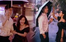 Alan Phạm - Vũ Thanh Quỳnh tung bộ hình cực lãng mạn dưới mưa: Ai nói yêu xa khó lắm?