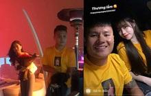 Fan soi ra Quang Hải từng mặc áo đôi với Huỳnh Anh khi hẹn tặng hoa Nhật Lê ngày 8/3
