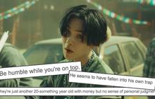 """Knet nhận xét BTS đang quá tự phụ và ảo tưởng sau lùm xùm của SUGA: """"Họ cũng chỉ là những chàng trai 20 mấy tuổi giàu có nhưng không biết điều""""?"""