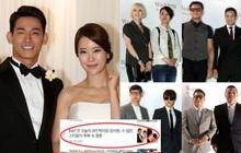 """Đám cưới ca sĩ """"Secret Garden"""" lên top Naver vì như """"bê"""" nửa Kbiz đến chung vui: Yoo Jae Suk, Park Bo Young, Sistar, cả chủ tịch JYP tụ họp đủ"""