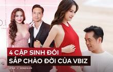 4 cặp song sinh sắp chào đời của Vbiz: Dương Khắc Linh, Khắc Việt chọn dịp đặc biệt công khai, riêng Hà Hồ vẫn chưa muốn trả lời?