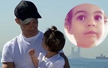 """Công chúa nhỏ nhà Ronaldo thổ lộ cực đáng yêu: """"Bố sẽ giận nếu con ăn món này"""""""