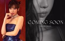 """Min thả ảnh """"Coming soon"""" vào 9/6, bất ngờ hơn cả việc nữ ca sĩ tóc nay đã dài là màn đoán tên bài hát #CKM thành """"có khuyến mãi"""" siêu nhây của Trang Hý"""