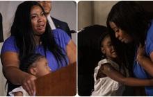 """""""Anh ấy sẽ chẳng được thấy con mình lớn lên nữa"""": Vợ George Floyd nhòe lệ bên con gái 6 tuổi, chỉ mong đòi lại sự công bằng"""