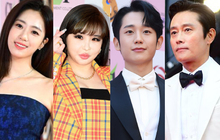 """Eun Jung (T-Ara) và Park Bom (2NE1) hút hết truyền thông trước dàn diễn viên hot, đến Jung Hae In cũng """"lép vế"""" ở thảm đỏ """"Oscars Hàn Quốc""""?"""