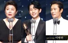 """Toàn cảnh """"Oscar Hàn Quốc"""" lần thứ 56: Parasite thắng lớn nhưng vẫn thua Lee Byung Hun ở hạng mục cực quan trọng"""
