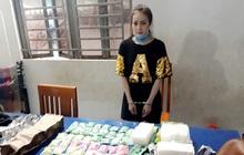 Hotgirl 9X đeo ba lô ma túy từ Campuchia về Việt Nam