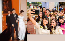 Xúc động khoảnh khắc cô dâu Viên Minh mặc váy cưới, khoác tay cha trước khi chính thức thuộc về Công Phượng