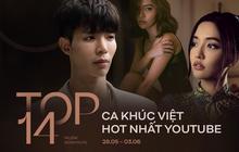 """14 ca khúc Việt hot nhất YouTube tuần qua: Comeback 1 tháng nhưng Erik vẫn """"vượt mặt"""" Bích Phương có 2 sản phẩm đấu nhau, 5 bài hát mới cạnh tranh top đầu"""