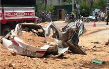 Vì sao bé trai 6 tuổi thoát chết trong vụ xe tải đè bẹp xe con khiến 3 người tử vong ở Thanh Hóa?