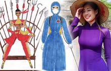 Loạt mẫu Quốc phục cho Khánh Vân tại Miss Universe được hé lộ: Bộ lấy cảm hứng từ đồ bảo hộ chiếm ưu thế, có tác phẩm gây tranh cãi