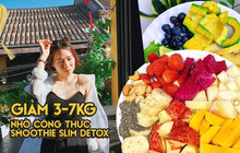 Bỏ túi công thức smoothie slim detox từ gái xinh Đà Nẵng, giảm 3-7kg trong 12 ngày chỉ còn là chuyện nhỏ