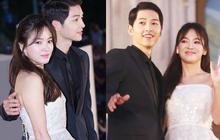 Nhìn lại khoảnh khắc huyền thoại của Song - Song couple tại Baeksang 4 năm trước: Có khác gì đám cưới thế kỉ đâu!