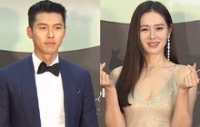 """Hyun Bin """"bảnh tỏn"""" như chú rể nhưng lại né mặt """"cô dâu"""" Son Ye Jin ở thảm đỏ Baeksang 2020"""