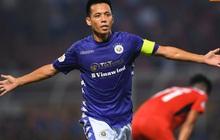 Văn Quyết ghi bàn, Quang Hải năng nổ trong ngày CLB Hà Nội thắng đậm HAGL với tỷ số 3-0