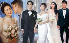 Mãn nhãn với loạt ảnh xinh trong hôn lễ dàn cầu thủ: Duy Mạnh cực đầu tư, Công Phượng giản dị nhưng đầy cảm xúc!