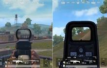 PUBG Mobile: Holographic sight và Red Dot, đâu là phụ kiện đi kèm tốt hơn?