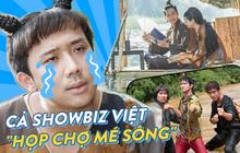 Đâu chỉ riêng cánh ca sĩ, cả làng phim Việt cũng chèo ghe họp chợ miền Tây, có cả khách mời đặc biệt là anh Lee Min Ho đây!