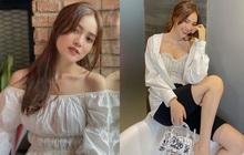 Lan Ngọc luôn bảo toàn được phong độ mặc đẹp nhờ đồ trắng và bạn cũng chỉ xịn đẹp trở lên nếu học theo