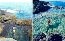 """Ngay tại Việt Nam cũng có 3 """"hồ bơi giữa biển"""" đẹp y hệt nước ngoài, hoang sơ đến nỗi rất hiếm du khách biết đến"""