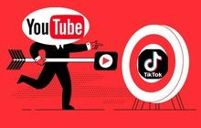"""Youtube ngầm tuyên chiến TikTok khi ra mắt tính năng làm video ngắn """"bắt chước"""" y hệt đối thủ"""