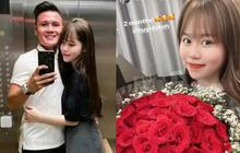 Sau lùm xùm liên tiếp, Quang Hải lần đầu có động thái thể hiện tình cảm với Huỳnh Anh nhân kỷ niệm 2 tháng yêu