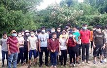 Bắt giữ 33 đối tượng nhập cảnh trái phép từ Trung Quốc về Việt Nam