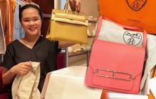 """Xứng danh vợ """"Mạnh gắt"""", Quỳnh Anh cũng """"khét"""" ra trò: Trong 2 tháng tậu liền 3 chiếc túi Hermès, tổng giá trị hơn nửa tỷ đồng"""
