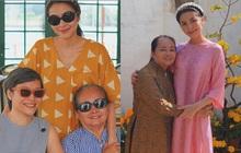 Hà Tăng khoe khoảnh khắc hiếm bên gia đình: Nàng ngọc nữ đẹp miễn bàn, mẹ ruột và chị gái đơn giản mà sang