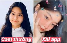 """Lọ Lem - con gái lớn nhà MC Quyền Linh chứng minh: Có một vẻ đẹp cam thường không """"hại"""" được, xài app để cho vui"""