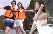 Đông Nhi quyến rũ khoe bụng lớn rõ ở tháng thứ 5 trong bộ ảnh du lịch gia đình: Phong độ nhan sắc vẫn quá đỉnh!