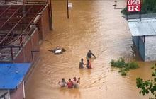 Lũ lụt, lở đất làm hơn 40 người chết ở Nepal