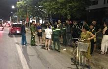 Xế hộp tông văng nữ công nhân dọn vệ sinh môi trường trên quốc lộ