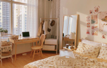 Cây - gương - tường - đèn: Công thức biến không gian cũ kỹ thành căn phòng xinh xắn, hội nghiện decor áp dụng triệt để
