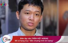 """Việt Hoàng - """"anh da nâu"""" hay cà khịa của VTV được đề cử hạng mục """"Dẫn chương trình ấn tượng"""""""