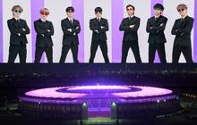 Quá buồn vì BTS không thể diễn vì dịch, SVĐ Olympic Berlin phủ kín toàn bộ các khán đài bằng màu tím đẹp lung linh