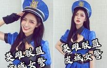 Rũ bỏ hình tượng thơ ngây, nữ ca sĩ Trung Quốc gây sốc khi khoe trọn vòng 1 ''bức thở'' với bộ ảnh cosplay Caitlyn của LMHT