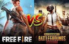 PUBG Mobile vs Free Fire: game nào có vũ khí đa dạng hơn?