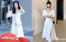 """Sunmi diện váy Zara rõ xinh nhưng các """"bánh bèo"""" có thể sắm váy na ná đẹp không kém với giá chỉ bằng một nửa"""