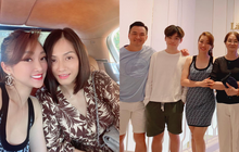"""Bạn gái Chi Bảo """"ra mắt"""" mẹ chồng tương lai, còn khoe ảnh """"chị chị em em"""" thân thiết bên vợ cũ nam diễn viên"""